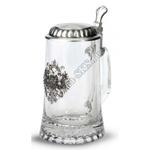 """Artina SKS Кружка для пива """"Россия"""" 16983 (стекло и олово 95%)"""