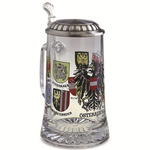 Artina SKS Кружка для пива 93369А (олово 95% и стекло)