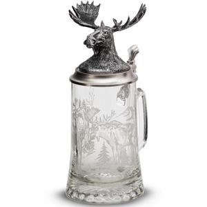 """Artina SKS Кружка для пива """"Лось"""" 93405 (олово 95%)"""