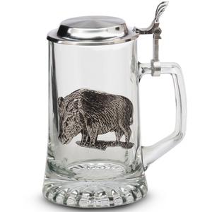 "Artina SKS Кружка для пива ""Кабан"" 93407А (олово 95%)"