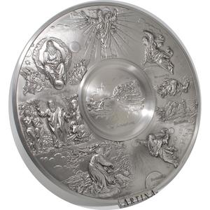 Artina SKS Тарелка декоративная настенная 60317 (олово 95%)