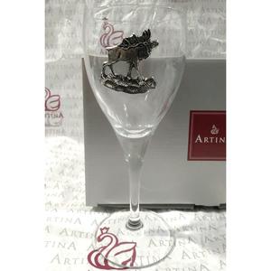 "Artina SKS Бокал для вина ""Лось"" 15539 (олово 95%)"