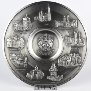 "Artina SKS Тарелка декоративная ""Австрия"" 60762 (олово 95%)"