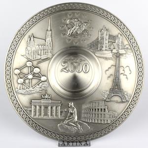 "Artina SKS Тарелка декоративная ""Миллениум 2000"" 60308 (олово 95%)"
