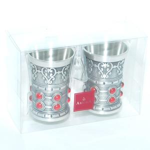 """Artina SKS Стопки """"Рубин"""" 2 шт. 13100 (олово 95%)"""