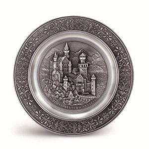Artina SKS Тарелка декоративная 10084А (олово 95%)