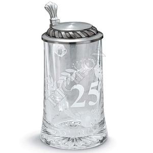 """Artina SKS Кружка для пива """"Юбилей 25"""" 93371 (олово 95%)"""