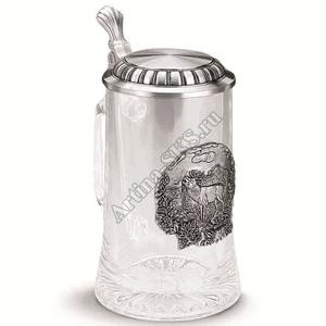 """Artina SKS Кружка для пива """"Олень"""" 93382 (олово 95%)"""