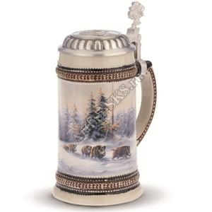 "Artina SKS Кружка для пива ""Кабан"" 93396 (олово 95%)"