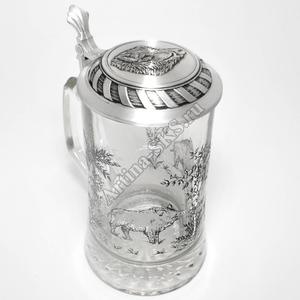 "Artina SKS Кружка для пива ""Кабан"" 93311 (олово 95%)"