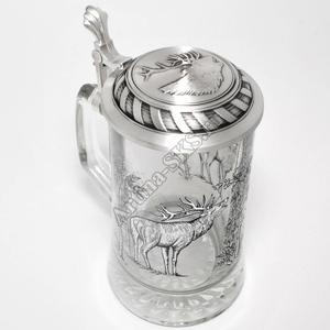 """Artina SKS Кружка для пива """"Олень"""" 93312 (олово 95%)"""