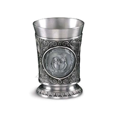 """Artina SKS Бокал для вина """"Близнецы"""" 10232 (олово 95%)"""